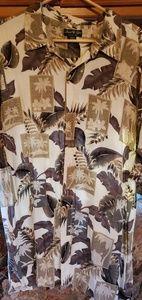 David Taylor Collection palm tree sz 2xl shirt